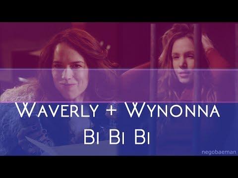 Waverly + Wynonna Earp || Bi Bi Bi