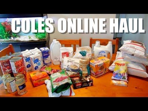 Budget Grocery Haul Coles Online | Australia