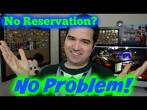 Disney World Table Service Restaurants 🍽  - No Reservation Required
