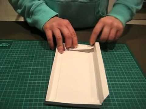 How to assemble an invitation box