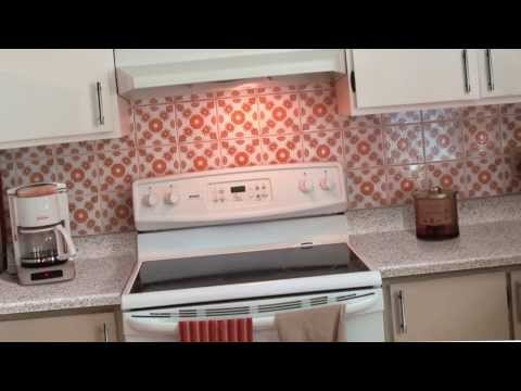 Backsplash Ideas: Lucy's Epiphany - Kitchen Makeover with Peel and Stick Smart Tiles
