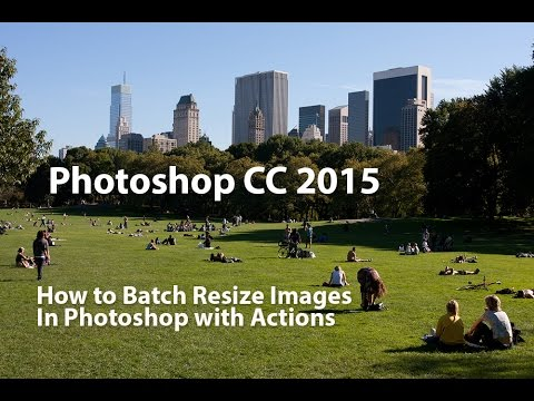 How to Batch Resize Images in Photoshop with Actions