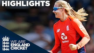 Ecclestone Spins England To Victory England Women V New Zealand IT20 2018 Highlights