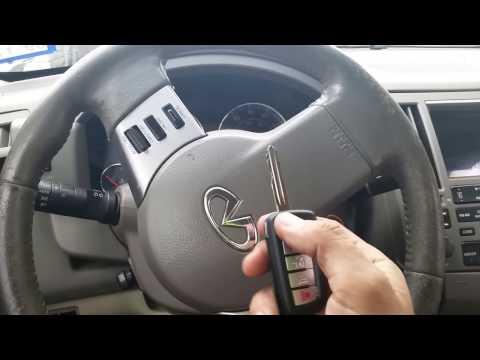 Infinity FX45 2003- 2008 new car key made with remote | Expert Locksmith San Antonio