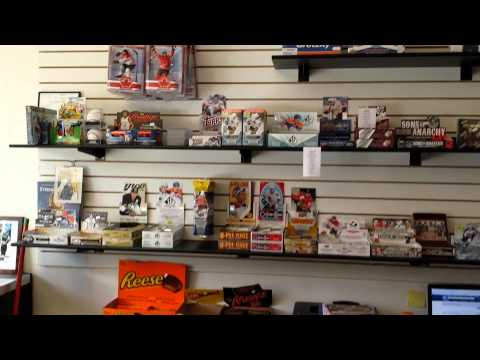 Triple Play Memorabilia Sports and Gaming Cards Store Tour Victoria BC Canada