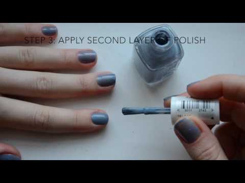 How to Make Normal Nail Polish Look Like Shellac | Route 13