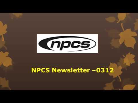 NPCS www niir org Newsletter –0312