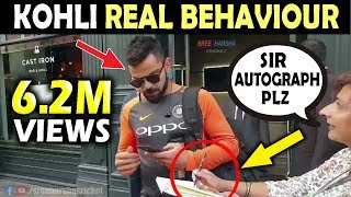 Virat Kohli REAL BEHAVIOUR with Fans | England vs India 2019 | Must Watch | Respect Moments