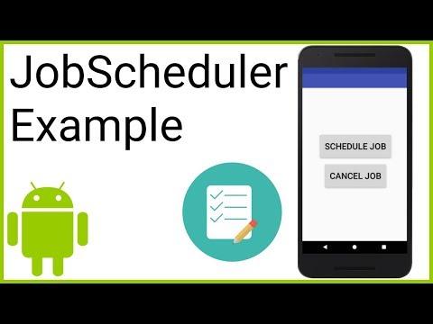JobScheduler - Android Studio Tutorial
