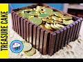 EASY Pirate Treasure Chest Cake | Pinch of Luck