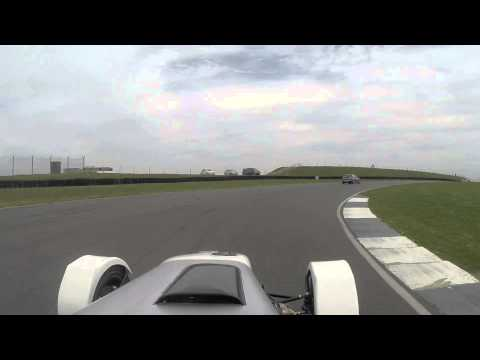 First track day @ Anglesey in GBS Zero s2000 supercharged