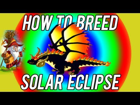 How to Breed - Solar Eclipse dragon FIRST TRY Dragonvale!