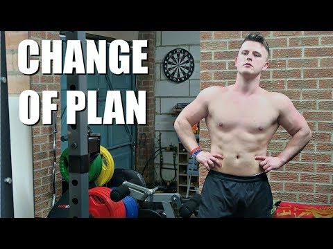 CHANGE OF PLAN!