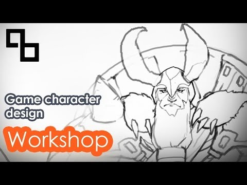 Designing a game character