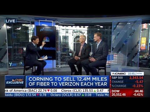CNBC Exclusive: Verizon & Corning CEOs on 5G Fiber Deal