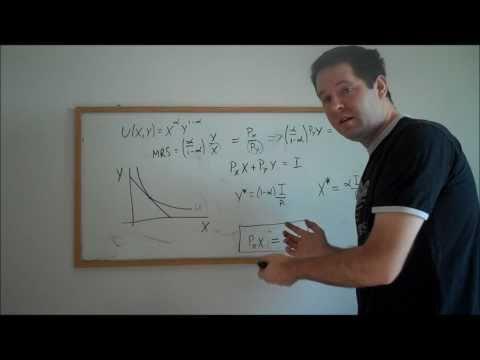 9b. Cobb-Douglas Utility and Demand