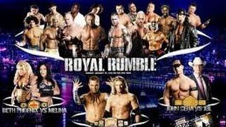 Highlights Royal Rumble 2009