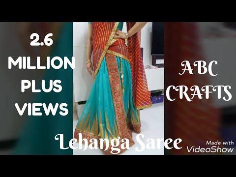 96. Lehange Making from Old Saree