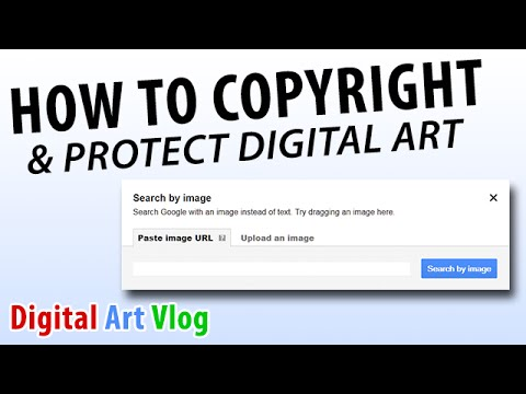 How to Copyright & Protect Your Art - Digital Artist Vlog