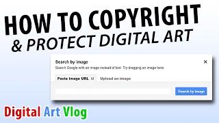 How To Copyright Protect Your Art Digital Artist Vlog