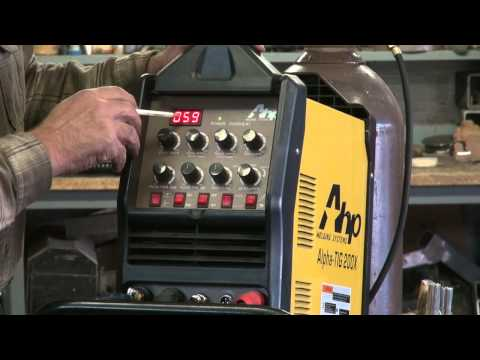 How to TIG Weld Aluminum Using the AHP Alpha TIG 200X - Kevin Caron