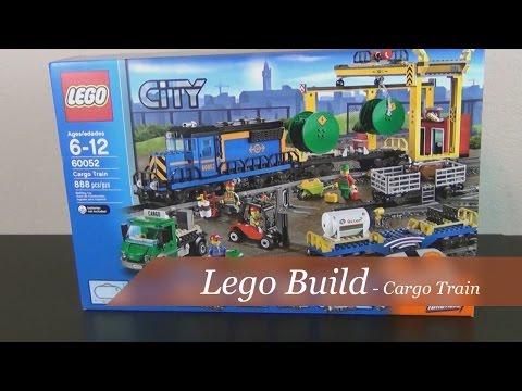 Lego Build - Lego City Cargo Train Set #60052 - Part1