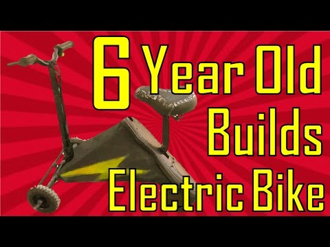 How to build an Electric bike | by a 6 year old