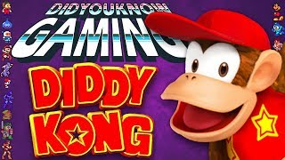 Diddy Kong - Did You Know Gaming? Feat. TheCartoonGamer