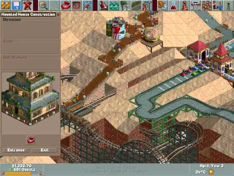 Roller Coaster Tycoon Part 5: Why Not Chair Lift