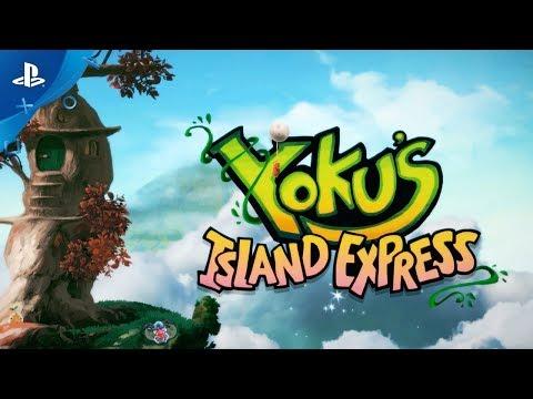 Yoku's Island Express – Launch Trailer | PS4