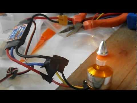 Arduino and ESC controlling a brushless motor. ( Original video)
