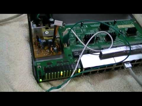 Repair Linksys 24 Port Ethernet Switch