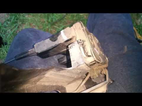 Replacing door panel removing door lock actuator 2001-2004 Mazda tribute
