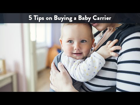 5 Tips on Buying a Baby Carrier | CloudMom