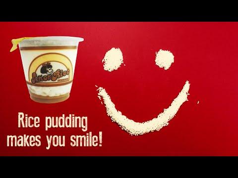 Señor Rico® Rice Pudding Makes You Smile
