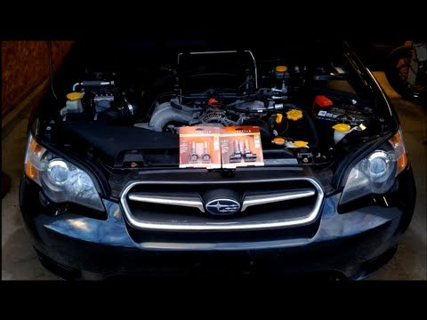 How To Replace/ Upgrade Your High & Low Headlight Bulbs In Your Newer Subaru (Legacy)