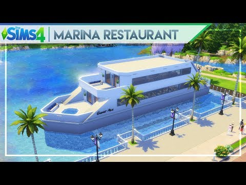 MARINA RESTAURANT & BAR | The Sims 4 Community Lot Building