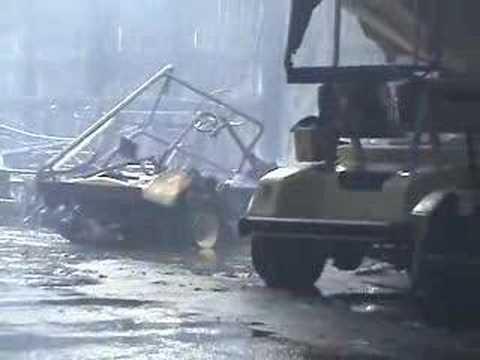 Fire Destroys Golf Cart Storage Building