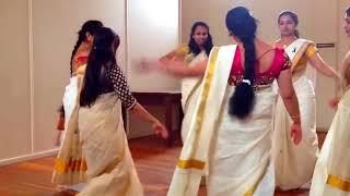 Navel Show in Thiruvathirakali - HD - Part 2