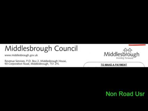 Pt1: Middlesbrough Council are Threatening to Send a Court Summons...