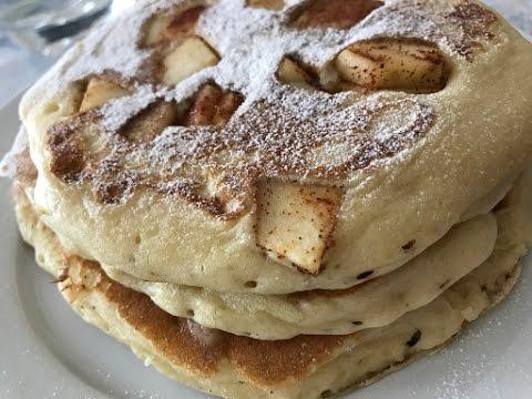 Apple Pie Pancakes - Episode 322 - Baking with Eda