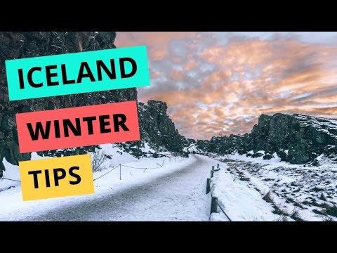 Winter in Iceland: Weather + Driving