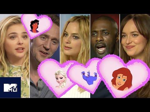33 Celebs Reveal Their Secret Disney Crush! | MTV