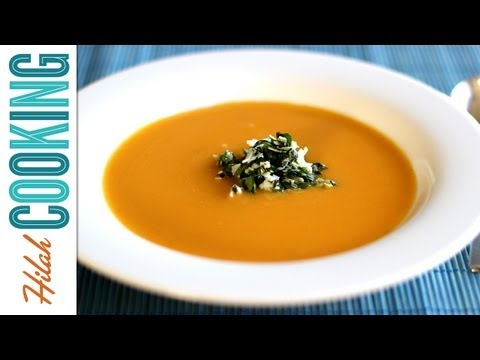 How to Make Butternut Squash Soup | Hilah Cooking