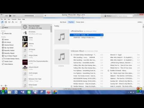 How to transfer music from PC to your iphone