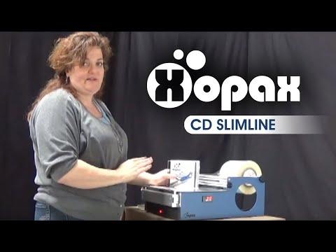 Overwrap a Slimline CD Jewel Case with Xopax PX12