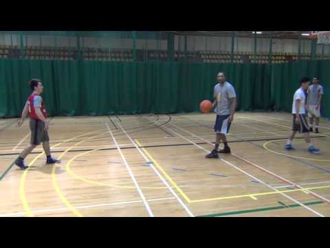 Basketball Drill To Improve 1 on 1 Read and React (Basketball IQ)