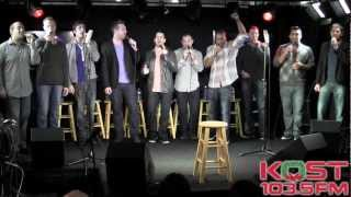 straight no chaser 12 days of christmas live in studio acapella