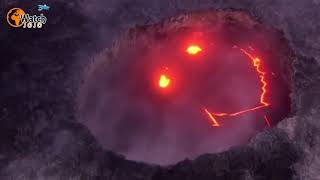 He Took A Chopper Ride To See Inside An Erupting Volcano. But He Never Expected This…