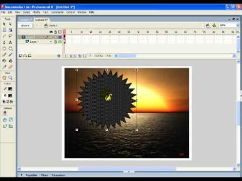 Tutorial para Macromedia Flash 8 - Efecto con mascara